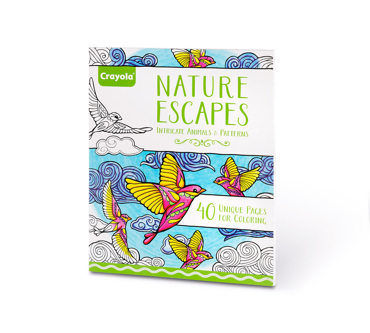 - Crayola Nature Escapes, Adult Coloring Art Activity, 40 Pages, Perforated  Pages, Easy Framing Crayola