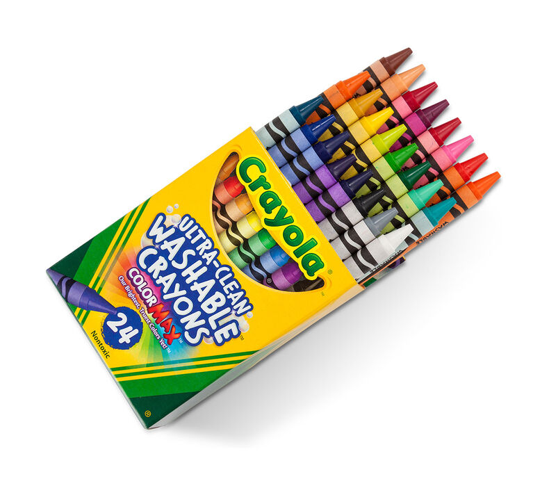 Bulk Crayons Pack, 12 boxes of 24 count