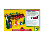 Crayola Crayons, 96 Count Front View