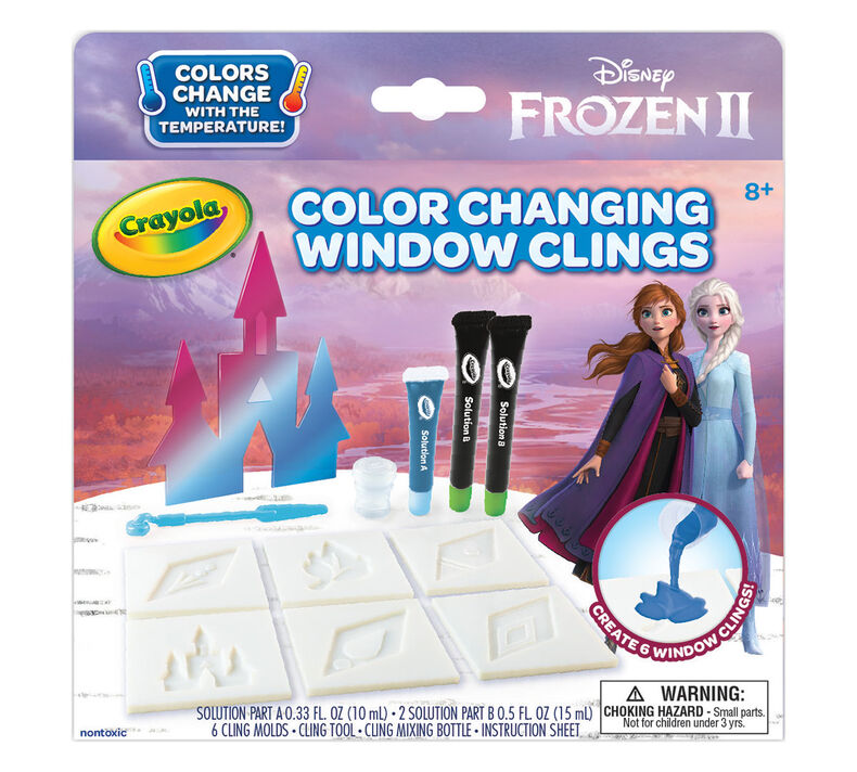 Frozen 2 Window Clings Craft Kit