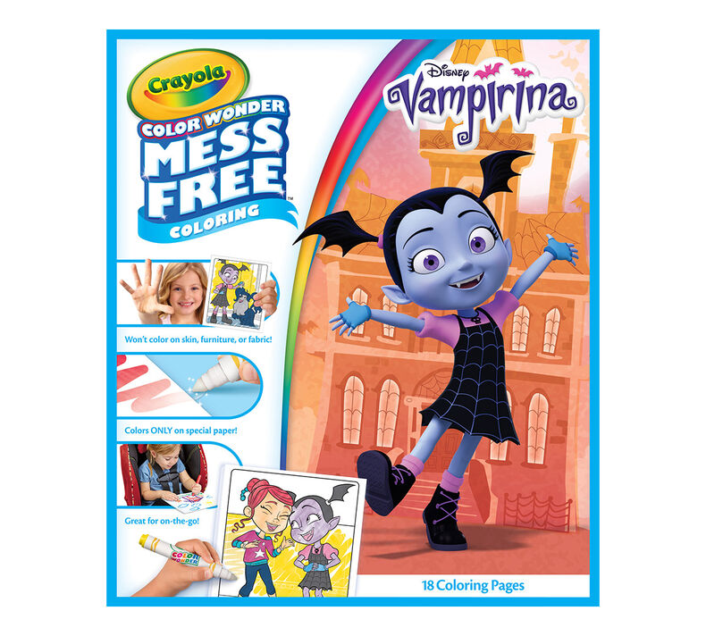 Color Wonder Mess Free Refill Book, Vampirina