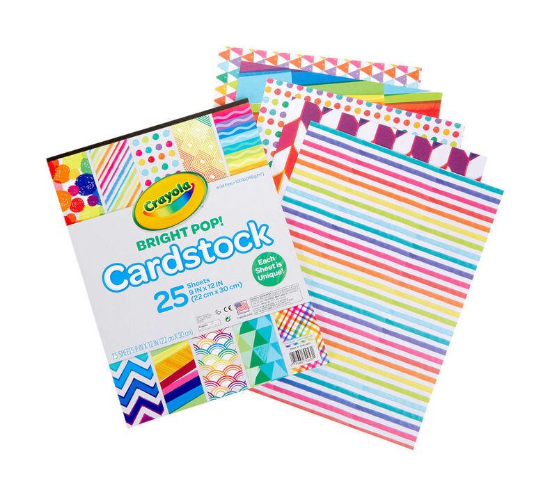 Bright Pop Cardstock