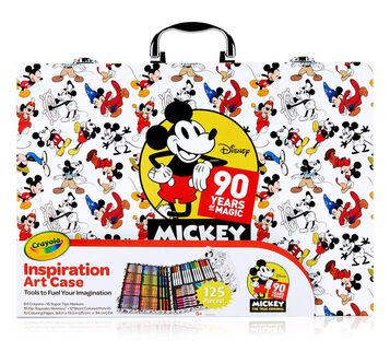 Inspiration Art Case, Mickey's 90th Anniversary Front View