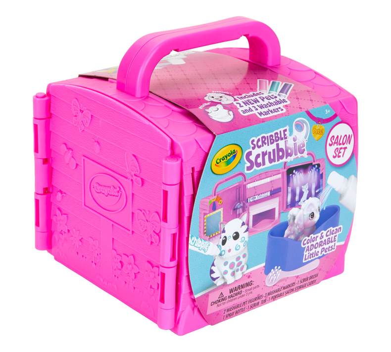 Scribble Scrubbie Pets Beauty Salon Playset
