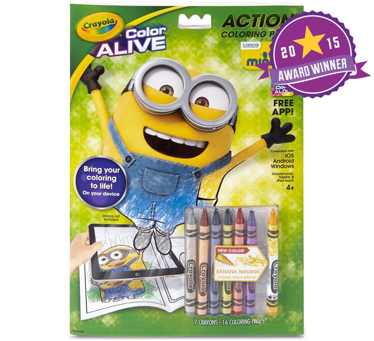 color alive minions crayola - Crayola Color Online