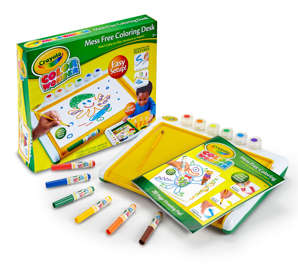 Crayola Mess Free Colouring Book | Coloring Page