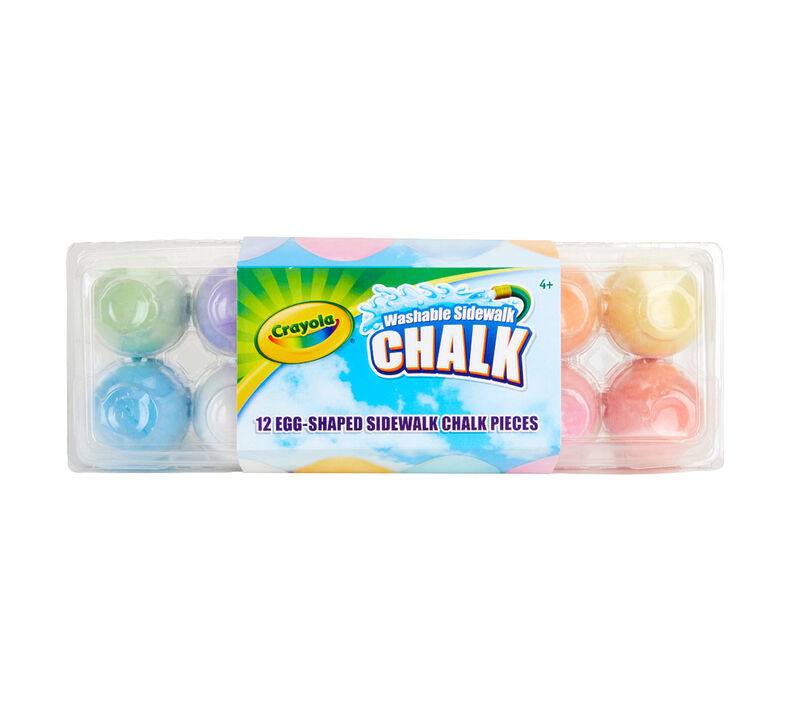 Egg Chalk, 12 Count