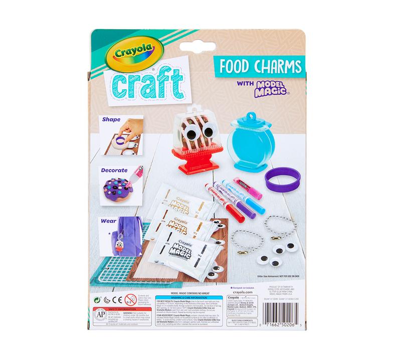 Food Charms Craft Kit