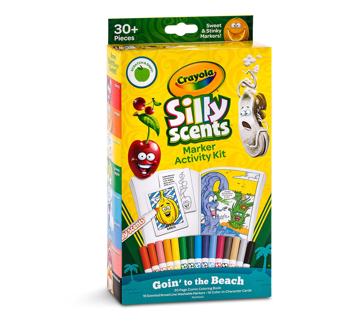 Silly Scents Marker Activity Kit Goin To The Beach