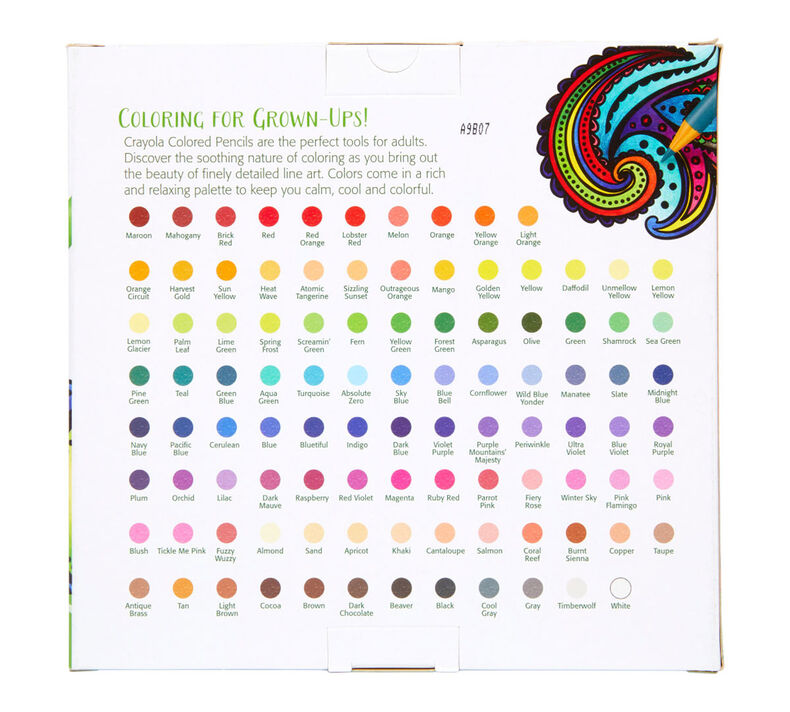 100 colored pencils  adult coloring supplies