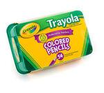 Crayola Trayola Colored Pencils, 54 Count