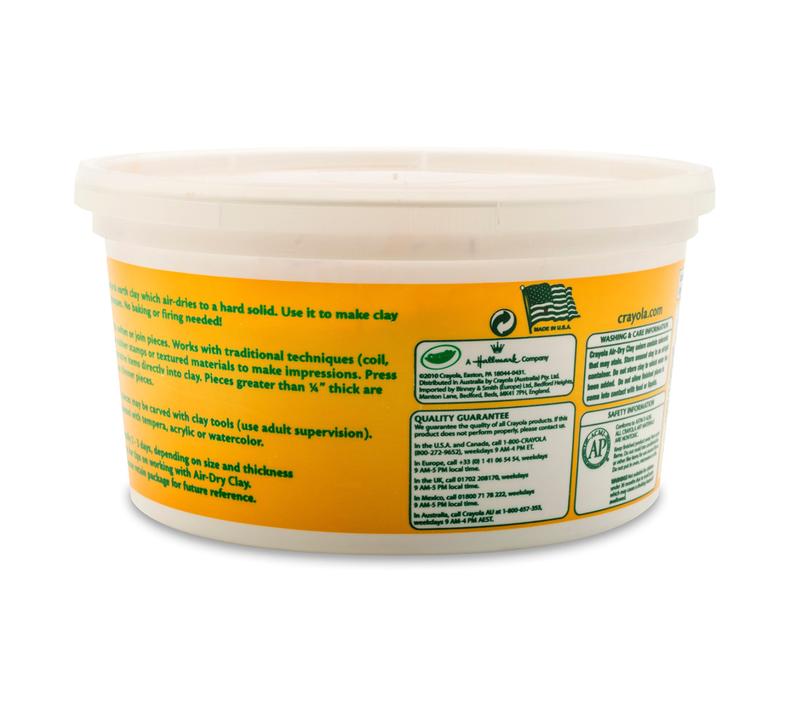 Terra Cotta Air Dry Clay, 2.5 lb Resealable Bucket