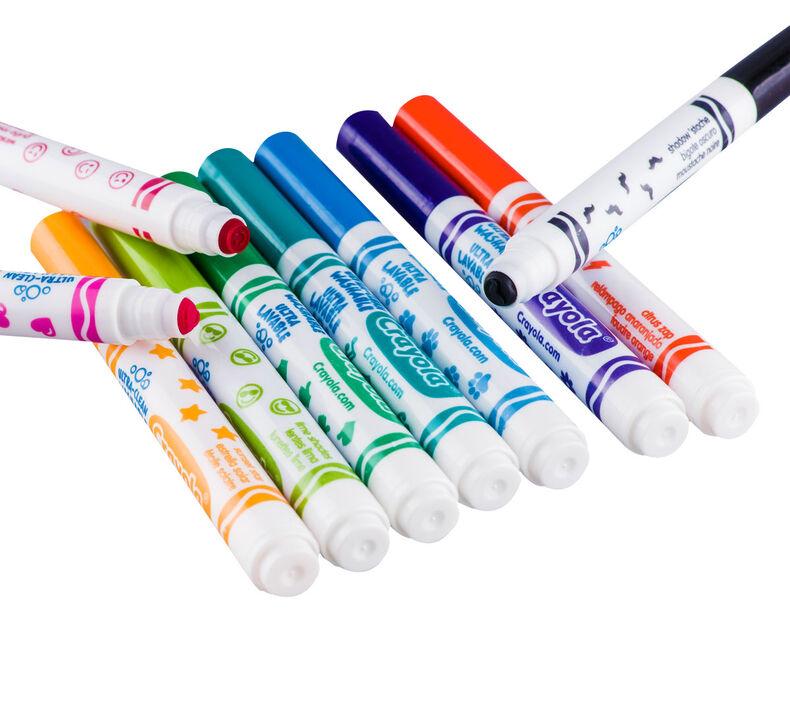 Crayola Ultra Clean Washable Markers Stampers Crayola Com Crayola