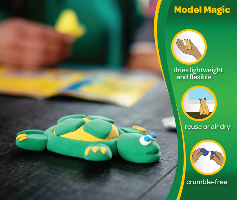 Model Magic 0.5-oz. Primary Colors, 6 Count