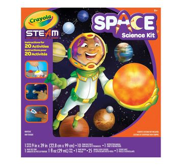 STEAM Space Science Kit front view of box