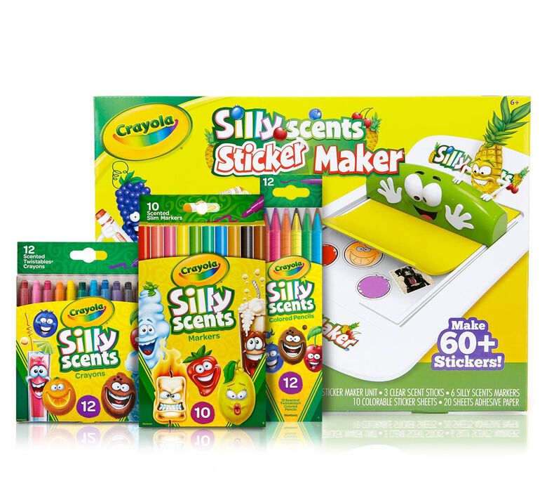 Silly Scents Sticker Maker Deluxe Kit