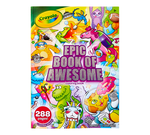 Epic Book of Awesome Coloring Book Front View