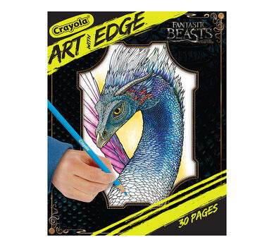 Art With Edge, Fantastic Beasts Coloring Pages