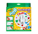 Crayola Pets Paw Print Keepsake Kit, Circle, Front View of Box
