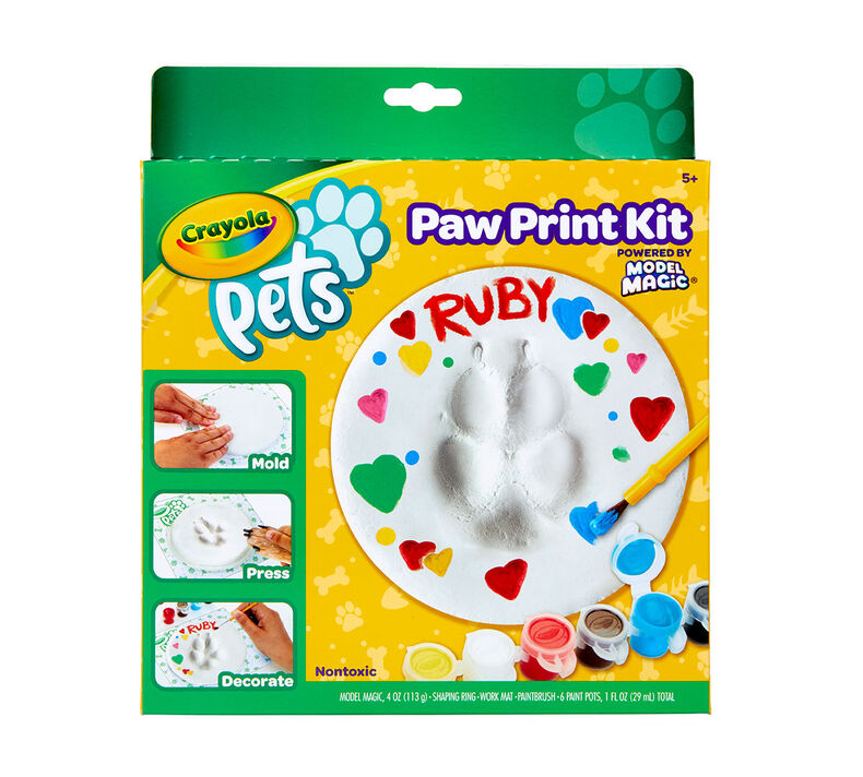 Crayola Pets Paw Print Keepsake Kit, Circle