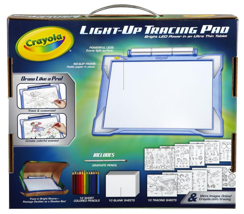 Light Up Tracing Pad Blue Crayola