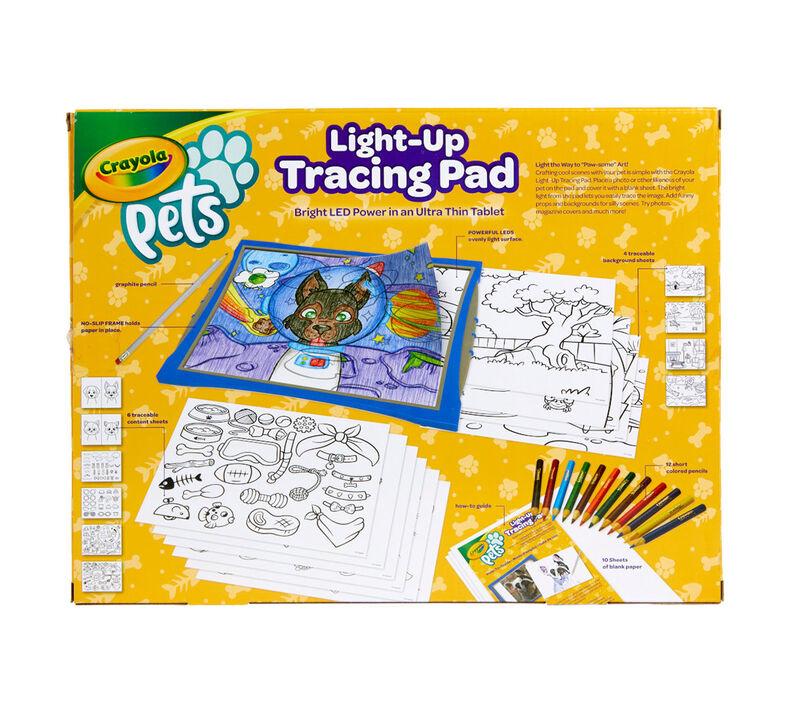 Crayola Pets Light Up Tracing Pad