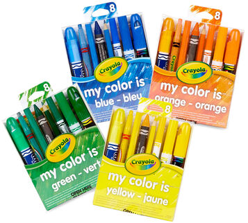 My Color is blue, green, yellow or orange