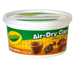 Terra Cotta Air Dry Clay Bucket 2.5 pounds Front View