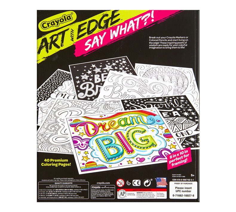 Art with Edge, Say What?!