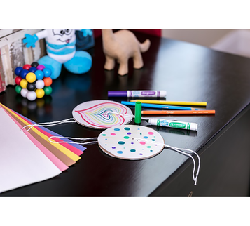 DIY Paper Spinners Craft