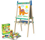 Wooden Art Easel & Supplies Kit Items Included