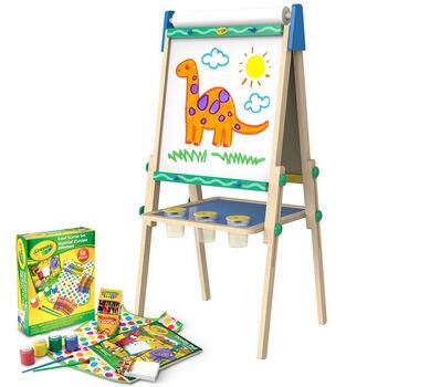 Kids Wood Easel With Art Supplies Crayola Com