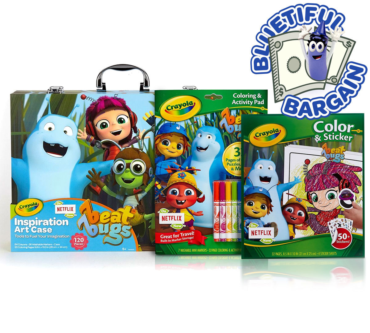 Beat Bugs Coloring & Craft Value Set