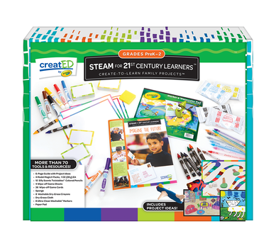 creatED® Family Engagement Kits, STEAM for 21st Century Learning: Grades PK-2: Imagine the Future, 30 Count