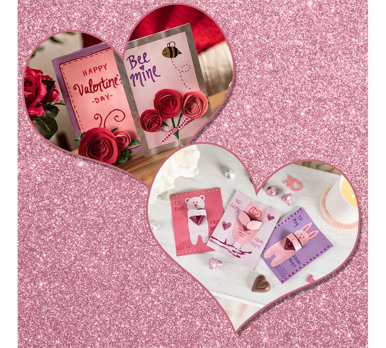 Valentine's Day Card 2-in-1 Craft Kit