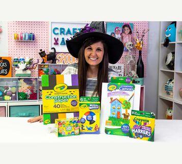 Camp Craft Box Craftoween & Supply Kit