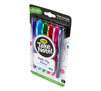Take Note Washable Felt Tip Pens, 6 Count Right Angle View