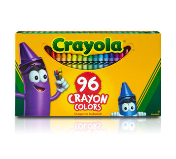 96 count Crayons Front of package