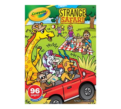 Strange Safari Coloring Book