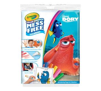 Color Wonder Mess Free Coloring Pad & Markers, Finding Dory