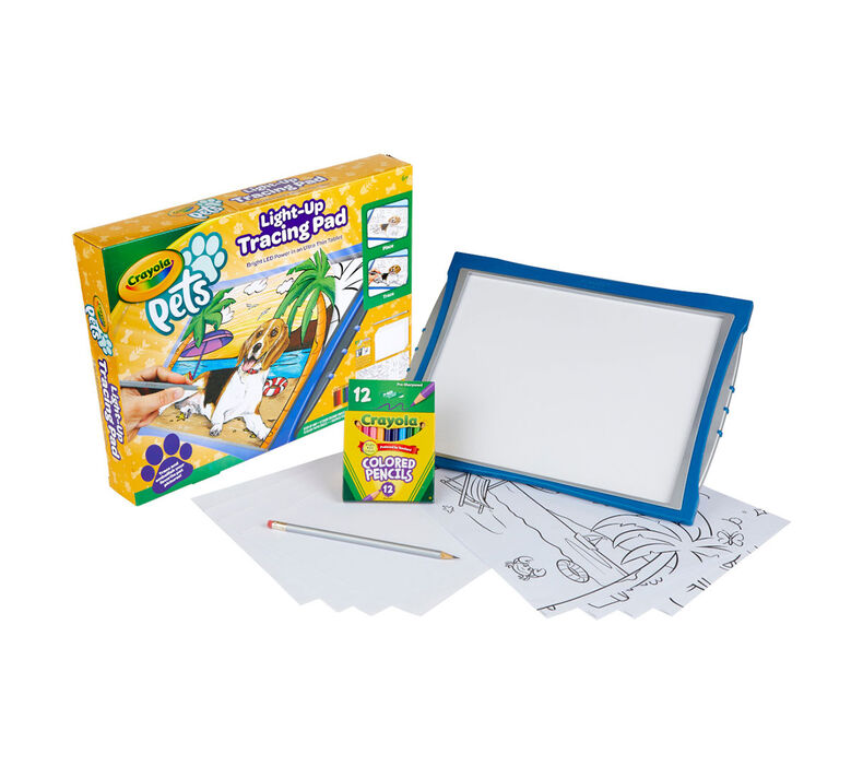 Crayola Pets Light Up Tracing Pad