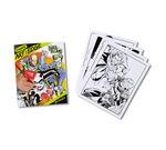 Art With Edge DC Villains Open book