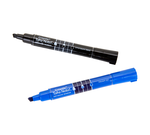 Low Odor Dry Erase Markers, Chisel Tip, 2 Count Front View