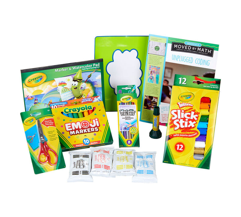 creatED® Family Engagement Kits, Moved by Math: Grades 6-8: Unplugged Coding