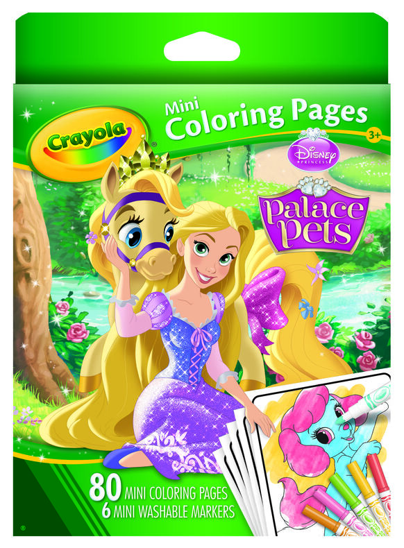 Mini Coloring Pages Case | Crayola