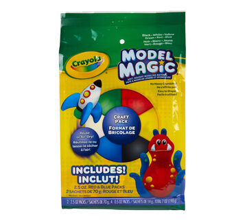 Model Magic Craft Pack Front View of Package