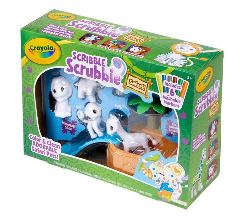 Scribble Scrubbie Safari Tub Set