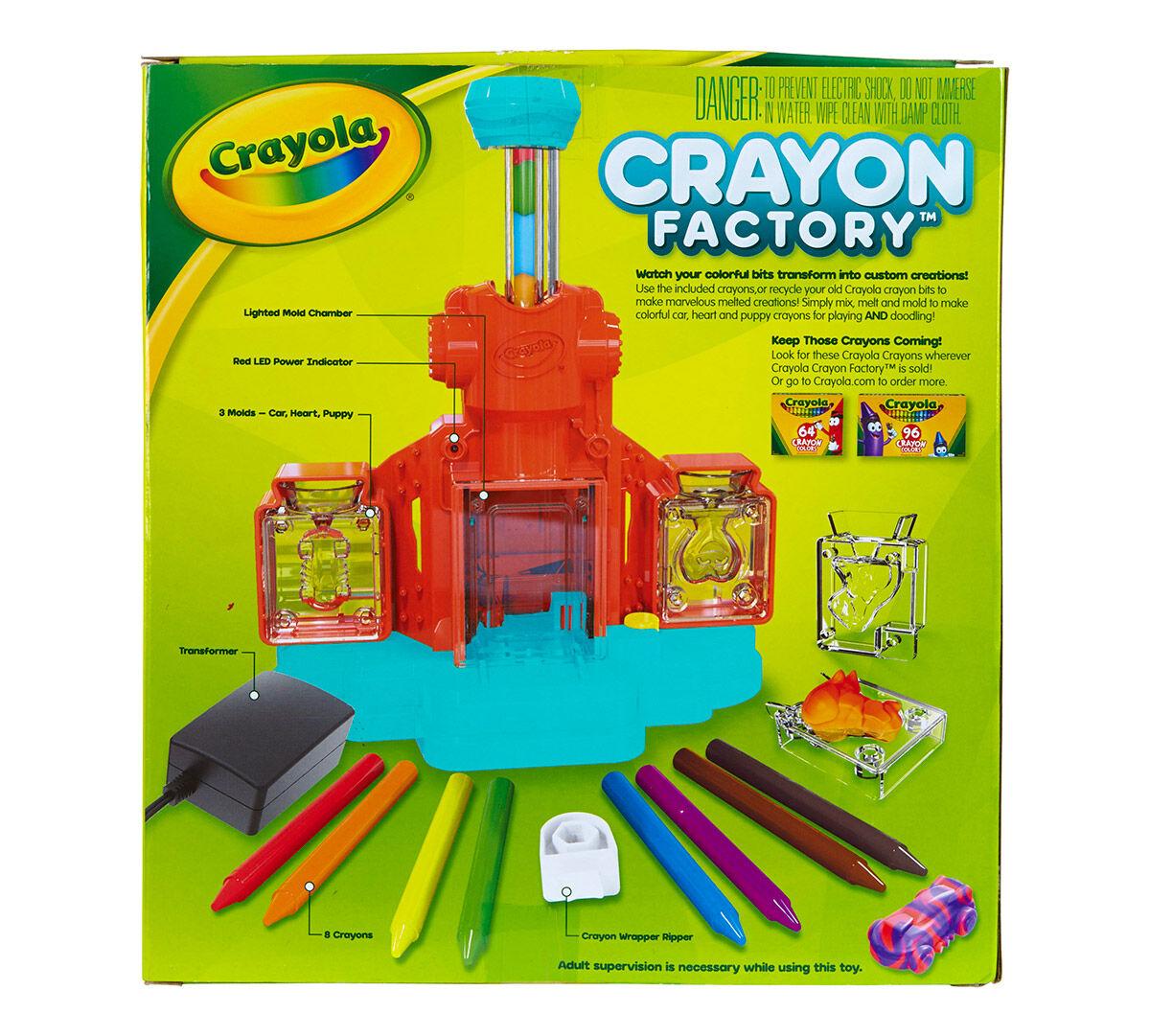 crayon factory crayola