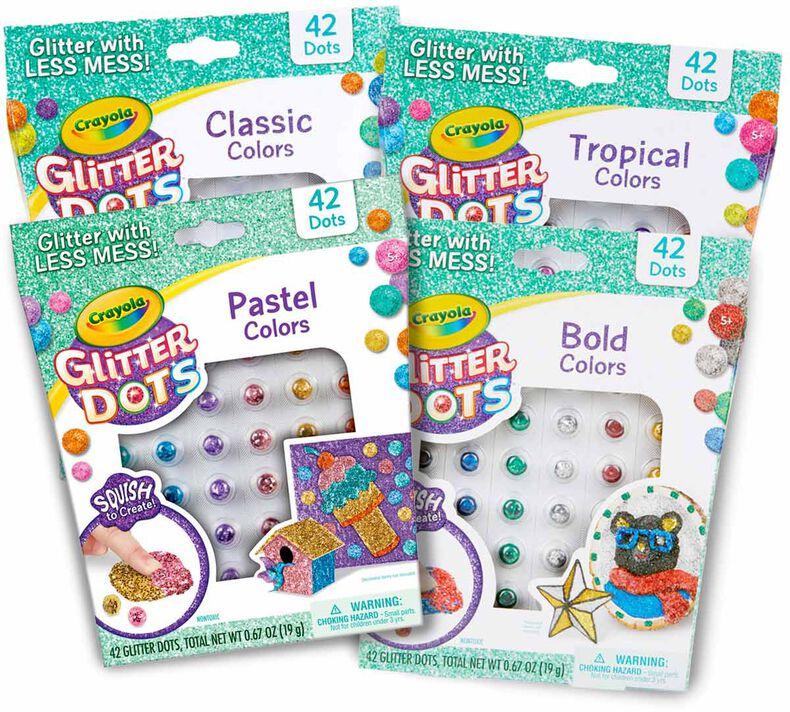 Glitter Dots Refills, 42 Count