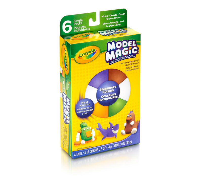 Model Magic 0.5-oz. Secondary Colors, 6 Count